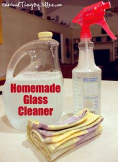 (2) Simple Glass Cleaners for SPARKLING Windows and Mirrors!