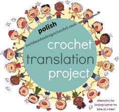 Polish Crochet Terms and US Terms