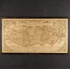 1588 World Map