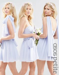 Buy ASOS PETITE WEDDING Multiway Mesh Maxi Dress at ASOS. With free delivery and return options (Ts&Cs apply), online shopping has never been so easy. Get the latest trends with ASOS now. Wedding Robe, Asos Wedding, Wedding Jumpsuit, Prom Party Dresses, Homecoming Dresses, Bridesmaid Dresses, Wedding Bridesmaids, Latest Outfits, Latest Fashion Clothes
