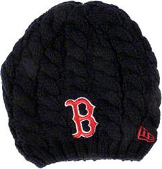 Boston Red Sox - Women's Cable Girl Knit Hat