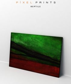 Reptile - Pixel Prints modern canvas art print