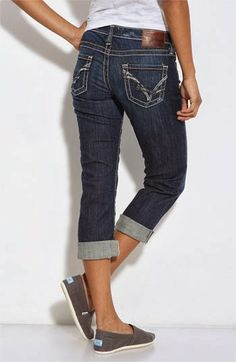 Silver Jeans Co. ® Suki skinny jeans with destroyed knees ...