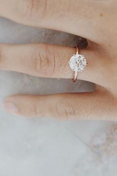 Looking for a rose gold engagement ring? Rose gold engagement rings are some of the sweetest trends we've seen recently in the engagement world. Here's a collec