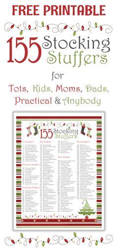 stocking stuffer list from organizing homelife