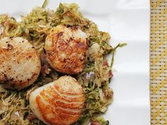 Seared Scallops with Pancetta and Brussels Sprouts | 23 Super Satisfying Low-Carb Dinners