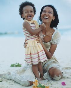 Join Us On Pinterest and Facebook,9pm eastern standard timemLiya Kebede and daughter in Cookie Magazine.