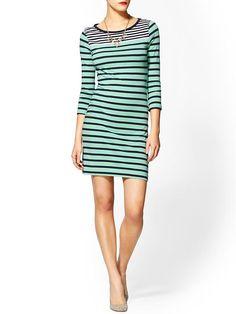 Piperlime   Boulevard Stripe Dress