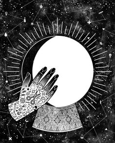 Lunar Phases - Waxing Gibbous, by Camille Chew