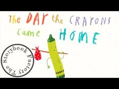 The Day the Crayons Came Home - Storybook Read Aloud! - YouTube