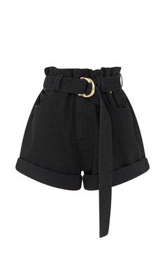 Salt Lake Belted Denim Shorts by Aje Moda Operandi Teenage Outfits, Teen Fashion Outfits, Cute Fashion, Girl Fashion, Fashion Design, Emo Fashion, Fashion Clothes, Denim Fashion, Gothic Fashion