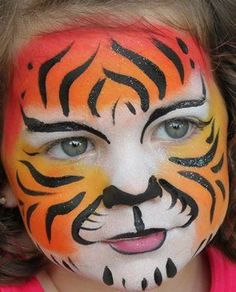 Image result for tiger face paint