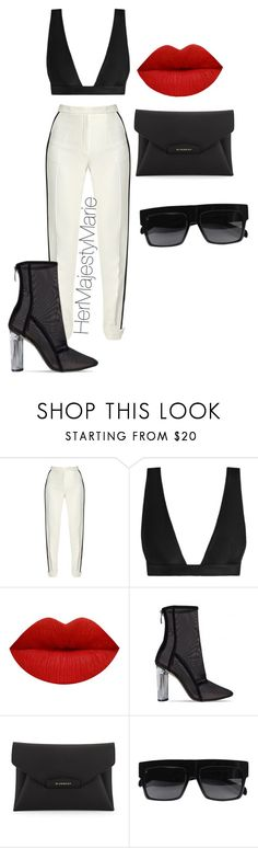 """Untitled #49"" by hermajestymarie on Polyvore featuring Elie Saab, Zimmermann, Givenchy and CÉLINE"