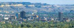 Billings, Montana.  Home sweet home.