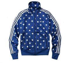 Adidas Women Firebird Blue Star Track Top Jacket M S   eBay