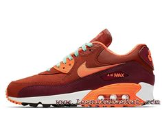 timeless design 81c66 c06d7 Nike Wmns Air Max 90 Leather Team Red 768887 600 Chausport Nike Prix Pour  Femme Enfant