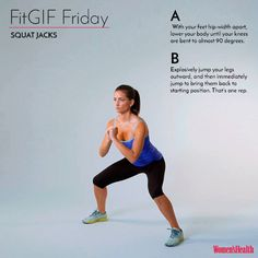 This Move Burns Way More Calories Than a Traditional Squat  http://www.womenshealthmag.com/fitness/fitgif-friday-squat-jacks?utm_source=facebook.com