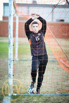 Senior Picture Ideas for Guys | Soccer
