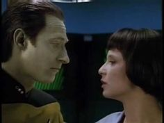 Data Always Knows Where Lal is - Star Trek: The Next Generation