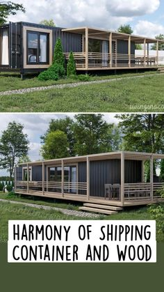 Sea Container Homes, Building A Container Home, Container House Design, Shipping Container Home Builders, Shipping Container House Plans, Shipping Containers, Metal Building House Plans, New House Plans, Tiny House Cabin