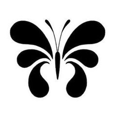 Stencils, Stencil Painting, Fabric Painting, Stencil Patterns, Hand Embroidery Patterns, Stencil Designs, Printable Tattoos, Silhouette Art, Butterfly Art