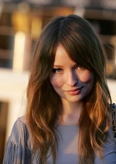 Emily Browning media gallery on Coolspotters. See photos, videos, and links of Emily Browning. Emily Browning, Celebrity Hairstyles, Hairstyles With Bangs, Pretty Hairstyles, Straight Hairstyles, Ombré Hair, Hair Dos, New Hair, Hair Bangs
