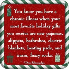 Chronic illness Christmas List - replace socks with Netflix/Hulu subscription and add in alkaline waters ; Chronic Migraines, Chronic Fatigue, Chronic Pain, Rheumatoid Arthritis, Endometriosis, Ulcerative Colitis, Autoimmune Disease, Crohn's Disease, Thyroid Disease