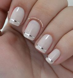 37 New Ideas For Gel Pedicure French Tips French Manicure Acrylic Nails, French Manicure Designs, French Tip Nails, Manicure And Pedicure, French Pedicure, Wedding Manicure, Manicure Ideas, Nail Nail, Classy Nails