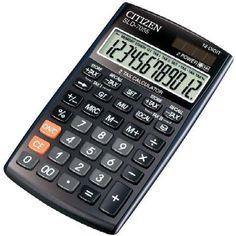 Citizen számológép 12 karakteres dupla adókulccsal SLD-7055 - Számológépek Ft Ár 3,899