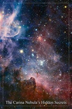The Wonders of the Carina Nebula, a region of massive star formation in the sout… – Science and Nature Camping 3, Ciel Nocturne, Star Formation, Purple Area Rugs, Hubble Space Telescope, Nasa Space, Space Images, Space Photos, Carina Nebula