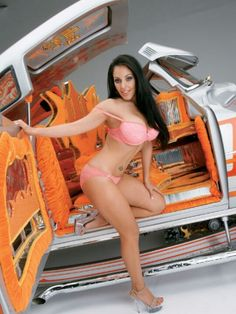 With Lowrider girls naked no bra think, that