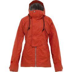 BURTON Credence Women's Winter Ski Snowboard Jacket Size Medium M (7) Red