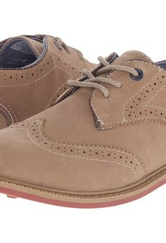 3a31cfcc3b666b Tommy Hilfiger Kids Michael Oxford (Little Kid Big Kid) (Tan) Boys Shoes