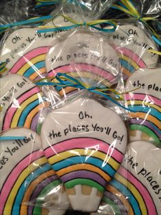 Dr. Seuss-theme Cookie for retirement favor
