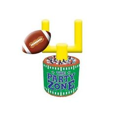 Got The Fun Inflatable Cooler/centerpiece At Oriental Trading. | Super Bowl/ Football Party | Pinterest | Oriental Trading