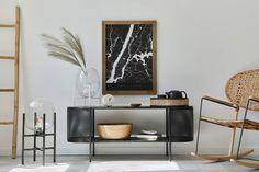 #lakberendezes #otthon #otthondekor #homedecor #homedesign #furnishings #design #furnishingideas #housedesign #decor #decoration #interiordesign #interiordecor #interiores #interiordesignideas #interiorarchitecture #interiordecorating #homedecoration #homedecorationideas #homedecorideas #monochromedesign #monochromelivingroom #monochromebedroom #monochromeinterior #monochromehome #monochromekitchen #blackandwhitedecor #blackandwhiteinterior Monochrome Bedroom, Monochrome Interior, Black And White Interior, Interior Decorating, Interior Design, Interior Architecture, House Design, Shelves, Furniture