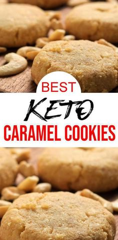 Check out these keto caramel cookies. Tasty & delish caramel cookies – homemade … Check out these keto caramel cookies. Tasty & delish caramel cookies – homemade not store bought low carb keto cookies. Great keto dessert, sweet treats, snack on the go. Keto Cookies, Homemade Cookies, Keto Friendly Desserts, Low Carb Desserts, Low Carb Recipes, Dessert Recipes, Healthy Desserts, Lunch Recipes, Vegan Keto Diet