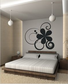 Decorate your home in a simple, economical and fun way, with decorative self-adhesive vinyl, you can change the colors, can be made in any size, can be customized, we send it anywhere in the world, we have more than 5 years selling decorative items by internet with a positive reputation 98% #vinyl #decorative #home #wall #walldecoration #homedecoration #flower #moderndecoration #room