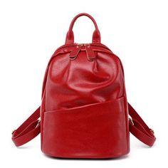 Women Backpack Genuine Leather Backpack Women 2016 Hotsale School Bags for Teenagers Fashion Backpacks for Teenage Girls