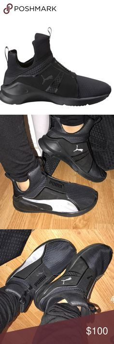 Kylie Jenner Fierce Puma Sneakers👟 Authentic. Used. GREAT condition. NO TRADES!!! Bundle to save. Open to offers. NO LOWBALLERS. Puma Shoes Sneakers