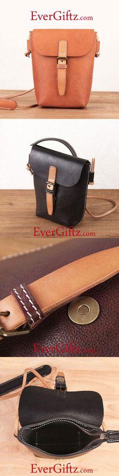 9669e004eda Genuine Leather Handmade Bucket Bag Handbag Crossbody Bag Shoulder Bag Purse  For Women