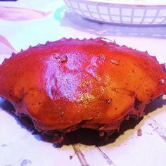 """she's grams crab. Her Smile, Hamburger, Pork, Foods, Meat, Ethnic Recipes, Pork Roulade, Food Food, Food Items"