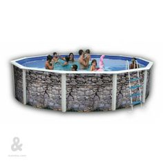 Piscinas montables de acero on pinterest dream pools for Piscinas montables