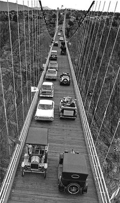 Royal Gorge Bridge 1964