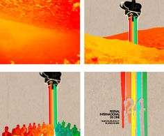24th International Film Festival Cinema Jove on Behance