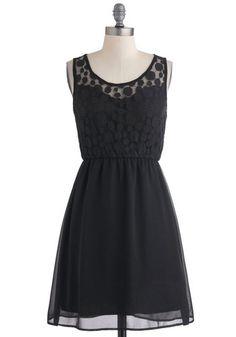 Down and Dotty Dress, #ModCloth