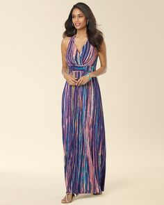 Soma Intimates Crossback Empire Waist Maxi Dress #somaintimates