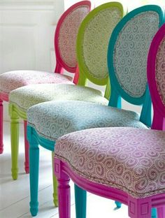Love these quirky chairs