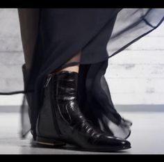 Shoes. Boots. At H&M Lookbook photoshoot. Spring 2014. Watch and pin: http://www.youtube.com/watch?v=VDsLMLjVsD8 #hmss14 #black