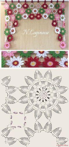 Japanese flower scarf motif fo